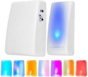 doorbell for hearing impaired Sonew color and music enabled doorbell