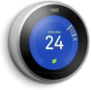 Smart Thermostat Multiple Zones Google Nest Learning smart thermostat