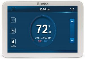 Thermostat with Humidity Control Bosch BCC100 smart connected