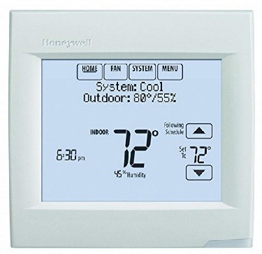 Thermostat with Humidity Control Honeywell Touchscreen wifi